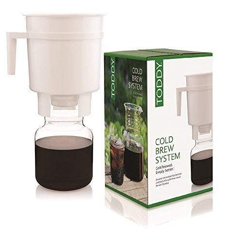Toddy cold brew coffee system illy eshop.